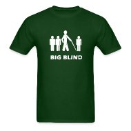T-Shirts ~ Men's Standard Weight T-Shirt ~ Big Blind
