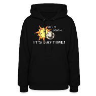 Hoodies ~ Women's Hooded Sweatshirt ~ SILLY MOON!