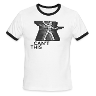 T-Shirts ~ Men's Ringer T-Shirt by American Apparel ~ Can't Stop This Motion