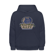 Sweatshirts ~ Kids' Hooded Sweatshirt ~ Trappers Alley DWD Kid's Hooded Sweatshirt