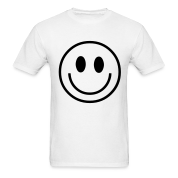 seventies hippie smiley T-Shirts
