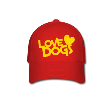 love dogs dog lover Caps