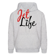 Hoodies ~ Men's Hooded Sweatshirt ~ Jet Life
