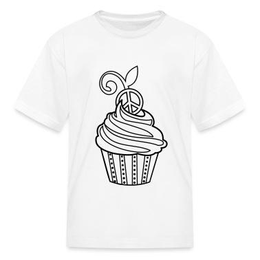 Cupcake Coloring T-shirt