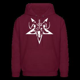 Satanic Goat Head with Pentagram (inverted) ~ 185