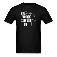T-Shirts ~ Men's Standard Weight T-Shirt ~ What Would Sun Tzu Do - Abyss