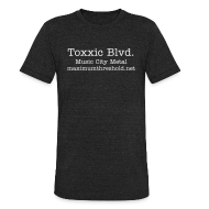 T-Shirts ~ Men's Tri-Blend Vintage T-Shirt ~ Toxxic Blvd Old Skool Shirt