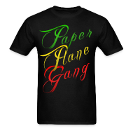 T-Shirts ~ Men's Standard Weight T-Shirt ~ Paper Plane Gang