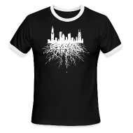 T-Shirts ~ Men's Ringer T-Shirt by American Apparel ~ Chicago Roots