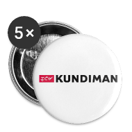 Buttons ~ Large Buttons ~ Kundiman Logo - Large Button, Black Logo