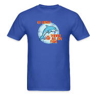 T-Shirts ~ Men's T-Shirt ~ SO LONG AND THANKS FOR ALL THE FISH Vintage Style T-Shirt
