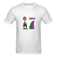 T-Shirts ~ Men's Standard Weight T-Shirt ~ Day of the Tentacle: Nerd