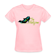 Women's T-Shirts ~ Women's Standard Weight T-Shirt ~ The Minty  women's light blue tee