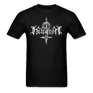 T-Shirts ~ Men's Standard Weight T-Shirt ~ Helgardh Crucifix Logo Men's T