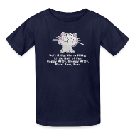 Kids' Shirts ~ Kids' T-Shirt ~ SOFT KITTY WARM KITTY LITTLE BALL OF FUR... Kid's T-Shirt