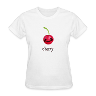 Women's T-Shirts ~ Women's Standard Weight T-Shirt ~ A Cherry Tee for Charity (Cheery Cherry)