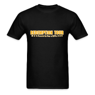 T-Shirts ~ Men's Standard Weight T-Shirt ~ Redemption Tour -- men's standard