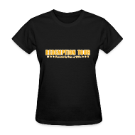 Women's T-Shirts ~ Women's Standard Weight T-Shirt ~ Redemption Tour -- womens standard