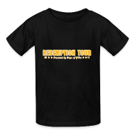 Kids' Shirts ~ Kids' T-Shirt ~ Redemption Tour -- children's standard