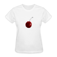 Women's T-Shirts ~ Women's Standard Weight T-Shirt ~ A Cherry Tee for Charity (Sherry Cherry)