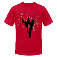 T-Shirts ~ Men's T-Shirt by American Apparel ~ Colorful Tango - Mens