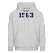 Birthday gift 1963 Hoodies