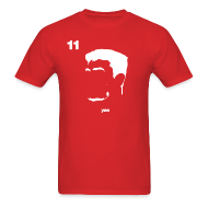 T-Shirts ~ Men's Standard Weight T-Shirt ~ Yao Portrait with Name & Number