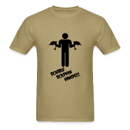T-Shirts ~ Men's Standard Weight T-Shirt ~ DOUBLE DOLPHIN HANDS!