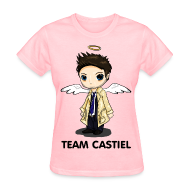 Women's T-Shirts ~ Women's Standard Weight T-Shirt ~ Team Castiel