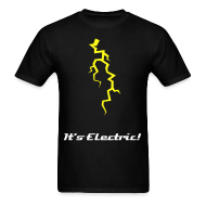 T-Shirts ~ Men's Standard Weight T-Shirt ~ #50 Electric Stuff Tee