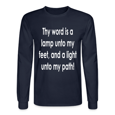 thy_word_is_a_lamp Long Sleeve Shirts