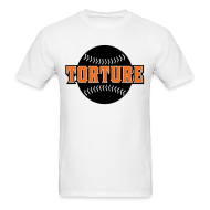 T-Shirts ~ Men's Standard Weight T-Shirt ~ Giants Torture - T-Shirt - White