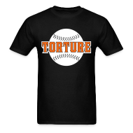T-Shirts ~ Men's Standard Weight T-Shirt ~ Giants Torture - T-Shirt - Black