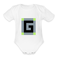 Baby & Toddler Shirts ~ Baby Short Sleeve One Piece ~ Guude Baby Onesy