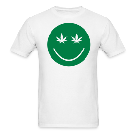 Weed Smiley Face ~ 351