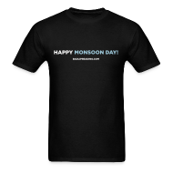 T-Shirts ~ Men's Standard Weight T-Shirt ~ HAPPY MONSOON DAY!