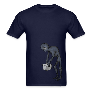 T-Shirts ~ Men's Standard Weight T-Shirt ~ Enderman - Men's - S - 2XL