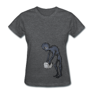 Women's T-Shirts ~ Women's Standard Weight T-Shirt ~ Enderman - Women's - S - 2XL