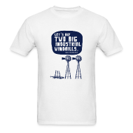 T-Shirts ~ Men's Standard Weight T-Shirt ~ WINDMILLS (white)