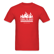 T-Shirts ~ Men's Standard Weight T-Shirt ~ FIRE WATER