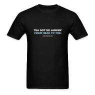 T-Shirts ~ Men's Standard Weight T-Shirt ~ TEA GOT ME JAMMIN'