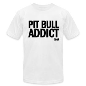 Pit Bull Addict Men's Tee (White) ~ 316