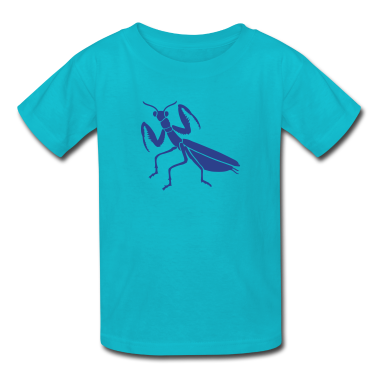 praying mantis bug insect Kids' Shirts