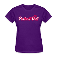 Women's T-Shirts ~ Women's Standard Weight T-Shirt ~ Doll