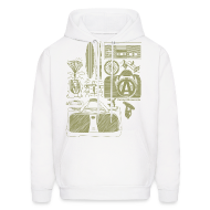Hoodies ~ Men's Hooded Sweatshirt ~ Article 8127739