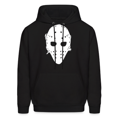 Vintage Hockey Goalie Mask Hoodies