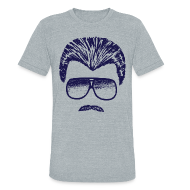 T-Shirts ~ Men's Tri-Blend Vintage T-Shirt ~ DITKA - HEATHER