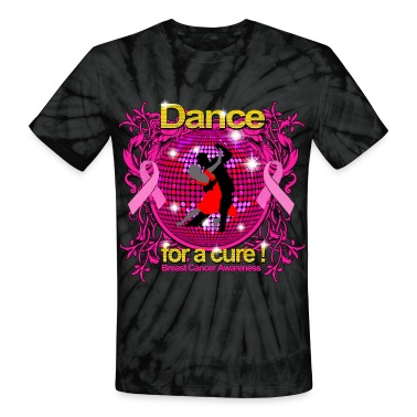 Dance for a cure Breast Cancer Awareness T-Shirts