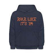 Sweatshirts ~ Kids' Hooded Sweatshirt ~ Roar Like It's '84
