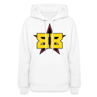 Hoodies ~ Women's Hooded Sweatshirt ~ Ladies White Hoodie